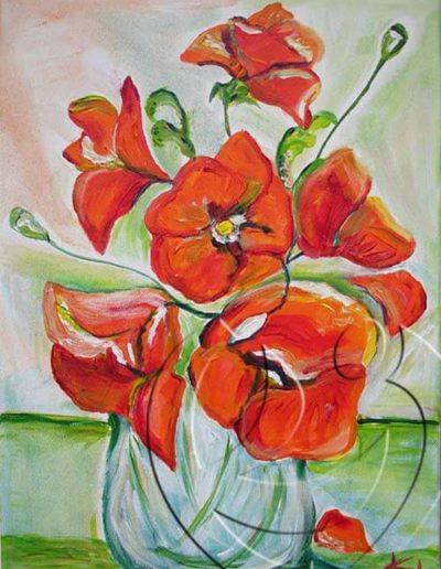 008005 Poppies