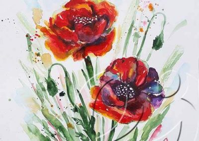 017179 Poppies for Ancsa