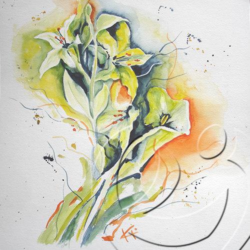 012060l Lilies