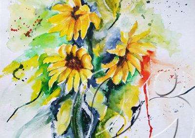 013064 Sunflowers