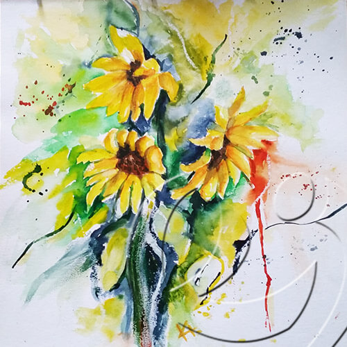 013064 Sunflowers