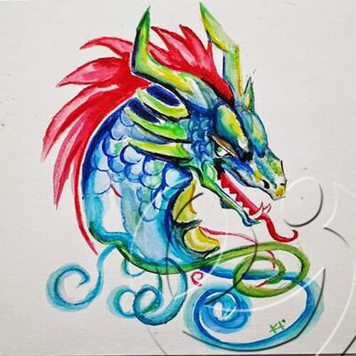 014075 Dragon for Natasha