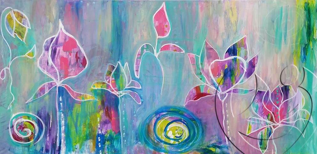 015118 Flower flow