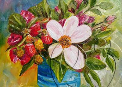 016133 strawberry bouquet