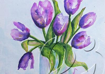 017168 Tulips for Christine