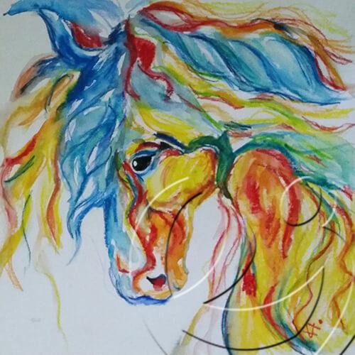 014079 Horse for Tündi