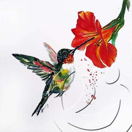 017200 Hummingbird
