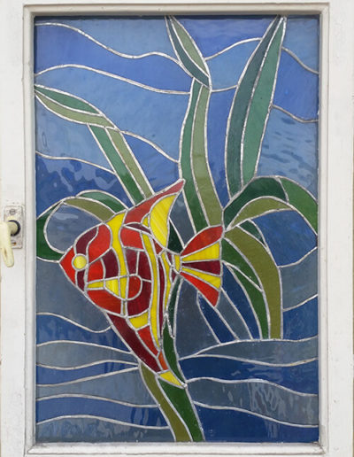 Under the Sea – Tiffany Glass Window