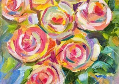 018235 Seven roses 2