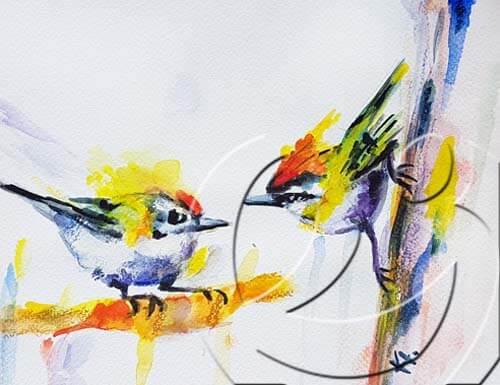 013070 Two birds