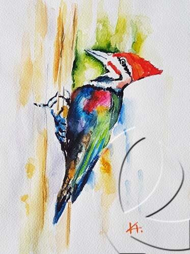 015086 Woodpecker