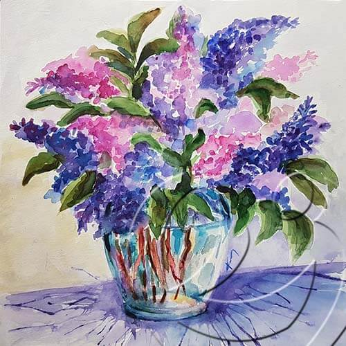 019283 syringa bouquet