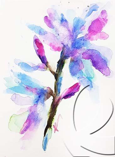 019288 Magnolia blue