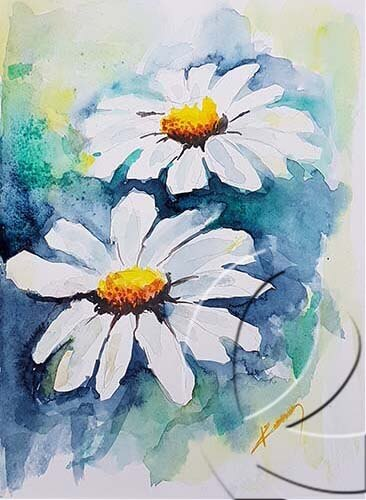 019320 Two daisies