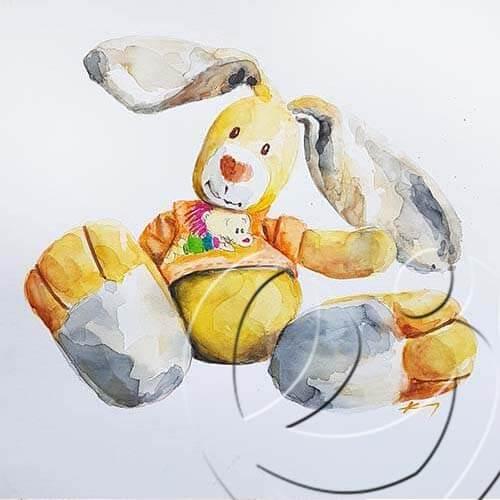 020367 Toy bunny